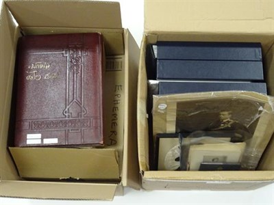 Lot 2007 - Wide-ranging accumulation in 4 cartons, with many 1000s of stamps on and off paper, the better sort