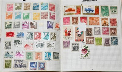 Lot 2027 - GB and Worldwide, interesting large box of albums, packets, FDCs, etc., including vintage...
