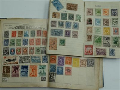 Lot 2046 - Worldwide, pre-war schoolboy/girl collection in a battered Olympic album, reasonably...