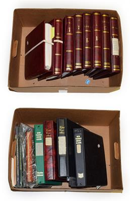 Lot 2051 - Australia 1913-2013, Mint Collection in eight SG printed albums and further volumes of...