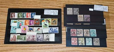 Lot 2053 - Australia group, perfin officials used 1913 to c.1915 with KGV heads and kangaroos to 1/-, 2/-...