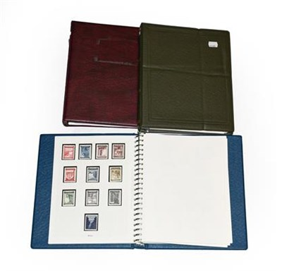 Lot 2054 - Austria collection in three albums, 1850-1950s, with classic imperfs incl. 1851 blue Mercury...