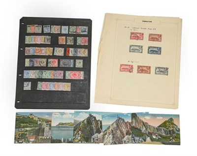 Lot 2067 - Gibraltar 1886-1953 ranges incl. 1898 sets mint and used, 1935 Jubilee set mint, 1938-51 to 10s...