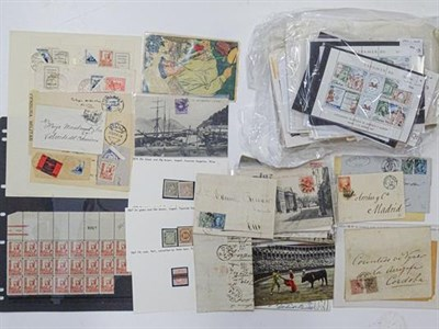 Lot 2089 - Spain 1850-1990's an extensive collection displayed in thirteen stockbooks, mint and used with...