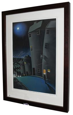 Lot 1003 - Mackenzie Thorpe (b.1956) ''High on a Lonely Windy Hill'' Signed, inscribed and numbered...