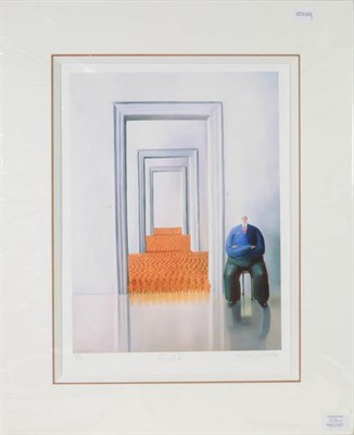 Lot 1024 - Sarah-Jane Szikora (Contemporary) ''Up the Wooden Hill'' Signed, inscribed and numbered L/L,...