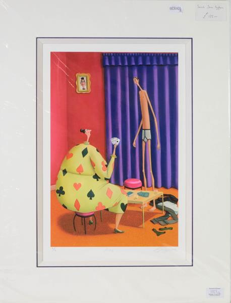 Lot 1025 - Sarah-Jane Szikora (Contemporary) ''The Startled Stag'' Signed, inscribed and numbered 469/750,...