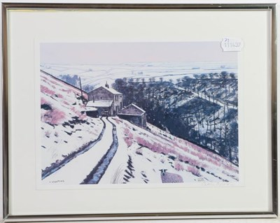 Lot 1034 - After Peter Brook RBA (1927-2009) ''Hannah Hauxwell- Waving Goodbye'' Signed and numbered...