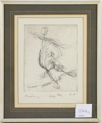 Lot 1044 - Nicholas Horsfield (1917-2005)  ''The Raft'' Initialled and inscribed trial print state 4/9,...