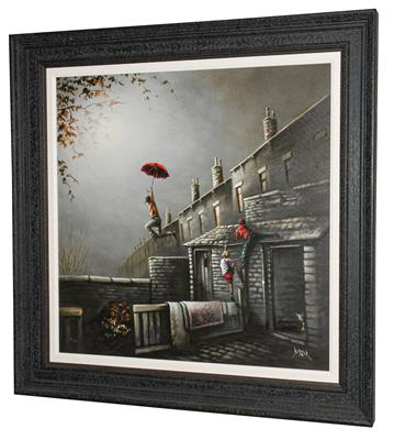 Lot 1063 - Bob Barker (Contemporary) ''Kami-Karsi'' Signed and numbered 9/25, giclee print on board, 64.5cm by