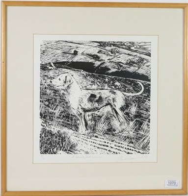 Lot 1070 - Piers Browne (b.1949) ''A Wensleydale Harrier'' Signed, inscribed and numbered 8/100, woodblock...