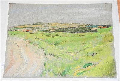 Lot 1082 - Philip Naviasky (1894-1983) Dales scene Pastel, 26cm by 35cm (unframed)  Artist's Resale...