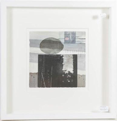 Lot 1090 - Sally James Thomas (b.1973)  ''Plinth III'' Signed, mixed media, together with Jo McDonald...