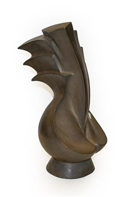 Lot 1091 - Contemporary School Abstract Composite metal, 44cm high