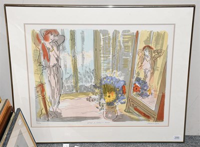 Lot 1093 - Edward Piper (1938-1990) ''Hotel de Calais á Nice II''  Signed, inscribed and numbered 48/150,...