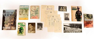 Lot 4 - A Second World War Archive Relating to Changi P.O.W. Camp, Singapore, collected by prisoner Captain