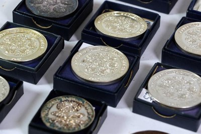 Lot 7 - A Collection of Forty Two Horticultural Medals, including four Sir Joseph Banks Royal Horticultural