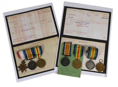 Lot 10 - Two First World War Pairs to the Royal Engineers, each comprising British War Medal and Victory...