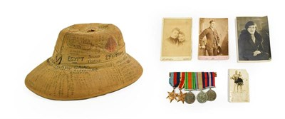 Lot 17 - A Second World War Group of Five Medals to VX 46919 Frederick George Beckinsall of the 2nd...