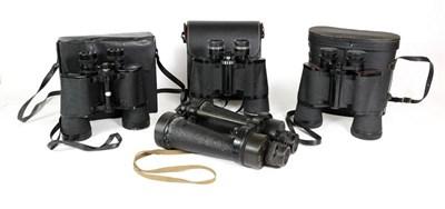Lot 30 - A Pair of Second World War CF41 7X Naval Binoculars by Barr & Stroud, marked A.P No.1900A,...