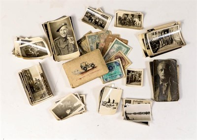 Lot 44 - A Collection of Second World War Personal Photographs Relating to the Liberation of Parts of...
