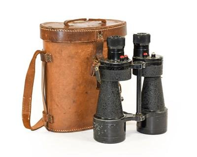 Lot 48 - A Pair of Second World War Nottingham Instruments Ltd. Mk5 X7 Binoculars, dated 1944, with...