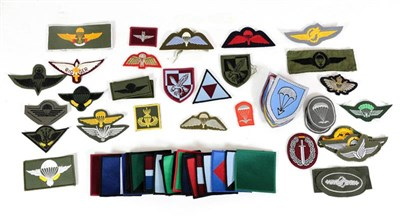 Lot 64 - A Collection of Sixty Late 20th Century Airborne Badges, British and other nationalities.