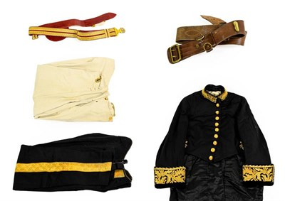 Lot 81 - A Late Victorian Civil Court Dress Uniform, to Thomas Sims Esq. C.B., comprising coatee with...