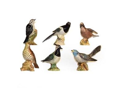 Lot 9 - Beswick birds including 'Barn Owl', 'Jay', 'Lesser Spotted Woodpecker', 'Lapwing', 'Cuckcoo'...