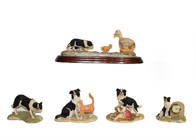 Lot 12 - Border Fine Arts Collie models including 'Bob', 'Sweep', 'First Lesson', 'Hen Pecked', etc (qty...