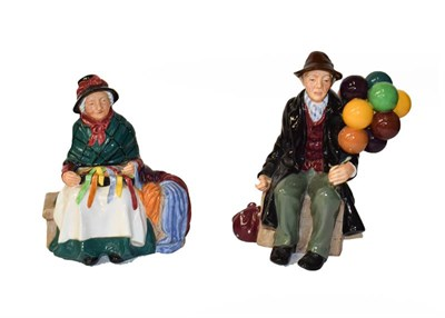 Lot 54 - Royal Doulton Figures Including ''The Favourite'', HN2249 and ''Noel'', HN2179, etc (7)