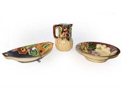 Lot 58 - A collection of Royal Winton lustre glazed pottery, Masons, etc (qty)
