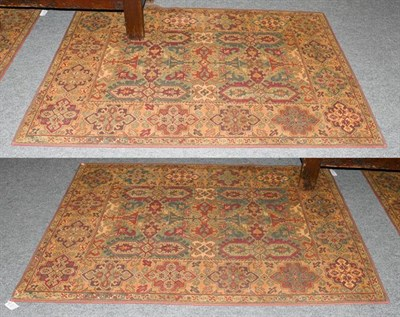 Lot 1010 - A matched pair of machine made Laura Ashley rugs, each of 17th century Transylvanian design,...