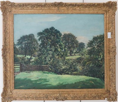 Lot 1054 - Ernest Forbes RBA (1879-1962) Country landscape, together with a further work by the same hand,...