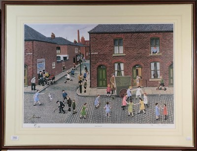 Lot 1062 - A Tom Dodson artist signed proof print, titled ''When I Was Ten'' number 61/500, signed in...