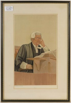 Lot 1079 - A collection of Spy prints, mainly of judges (16)