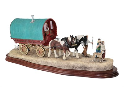 Lot 41 - Border Fine Arts 'Travelling Home from Appleby Fair', model No. B0775 by Ray Ayres, limited edition