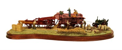Lot 85 - Border Fine Arts 'The Threshing Mill', model No. B0361 by Ray Ayres, Millenium limited edition...