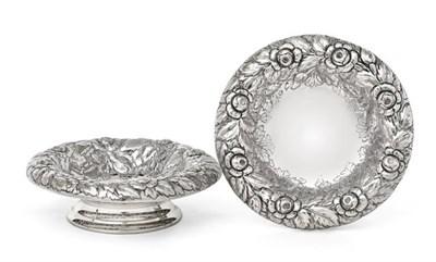 Lot 2069 - A Pair of Victorian Silver Bowls, by Edgar Finley and Hugh Taylor, London, 1893, each circular...