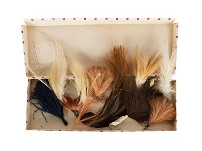 Lot 82 - Natural History: A Small Quantity of Late Victorian Birds of Paradise Millinery Plumes, nine...