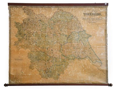Lot 4 - Hobson (William Colling). This Map of Yorkshire, is most respectfully dedicated to the...