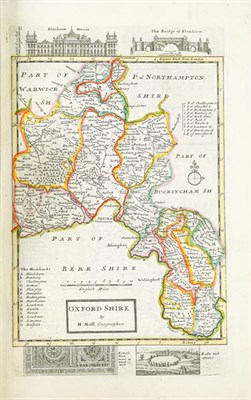Lot 6 - Moll (Herman). A Set of Fifty New and Correct Maps of England and Wales, etc. With the Great...