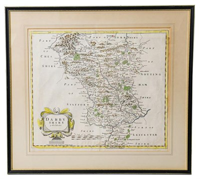 Lot 7 - Morden (Robert). Four county maps, [London]: Abel Swale, Awnsham and John Churchill, [1695 or...
