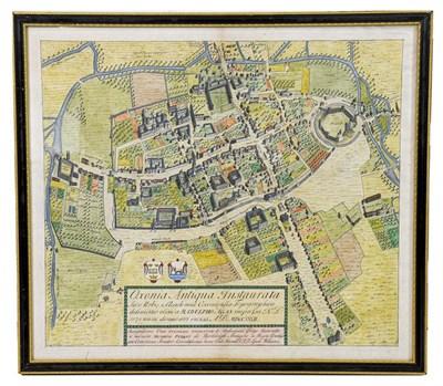 Lot 9 - Oxford. Oxonia Antiqua Instaurata. Sive Urbis et Academiae Oxoniensis Topographica delineatio...