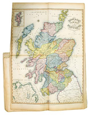 Lot 10 - Railways. Pigot & Co.'s British Atlas, comprising the Counties of England (upon which are laid down