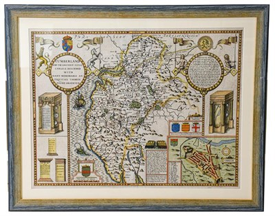 Lot 14 - Speed (John). Cumberland and the Ancient Citie Carlile described with many Memorable...