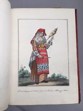 Lot 26 - Italy; Kingdom of Naples. Volume of prints depicting costume and trades, c.1810-30. 4to (275 x...