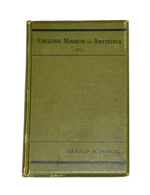 Lot 29 - Portal (Gerald H.). An Account of the English Mission to King Johannis of Abyssinia. Privately...