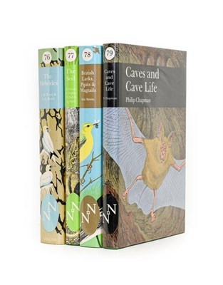 Lot 65 - New Naturalists. The Hebrides; The Soil; British Larks, Pipits and Wagtails; Caves and Cave...