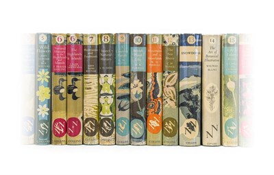 Lot 67 - New Naturalists. Numbers 1-20, London: Collins, 1945-51. 21 volumes (i.e. including both...